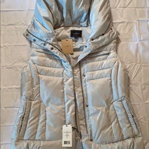 Cole Hann Silver Vest With Tags Size XL